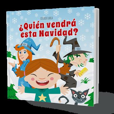 """Portada del libro """"Quién viene esta Navidad"""""""