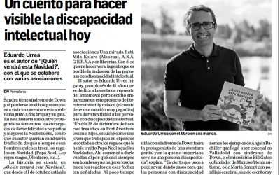 Quién Vendrá en el Diario de Navarra