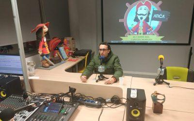 Entrevista en Radio Atica FM de Pamplona